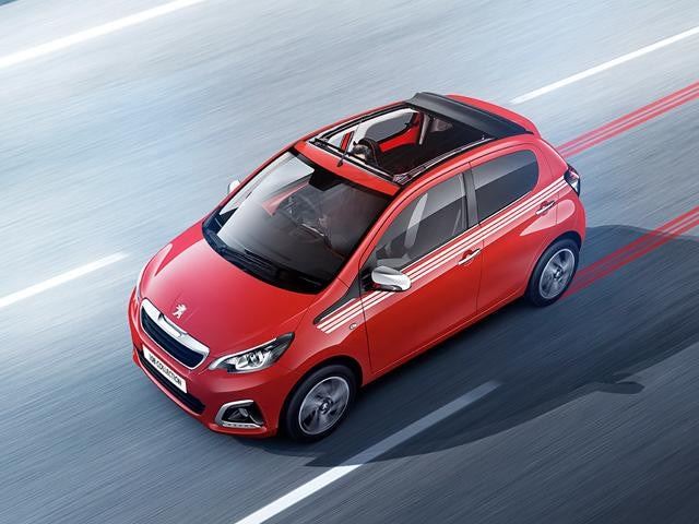 Peugeot 108 Collection TOP! in red