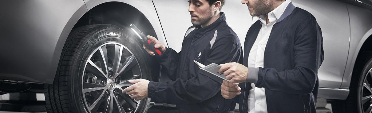 Free Tyre Check Service | Peugeot UK