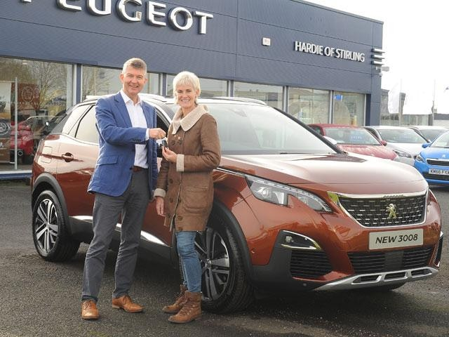 Peugeot 3008 SUV and Jody Murray thumbnail