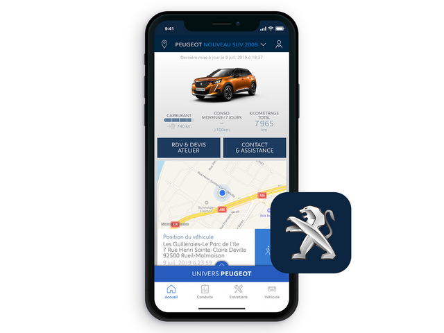 ALL-NEW PEUGEOT 2008 SUV: MyPeugeot® app