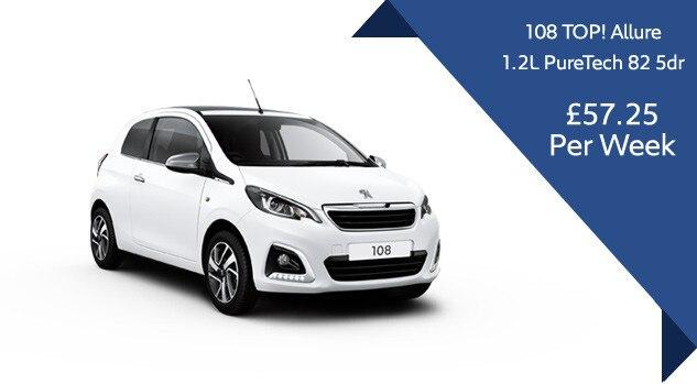 Peugeot 108 Top allure offer