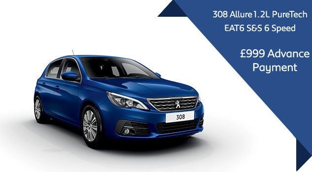 Peugeot 308 Auto Offer