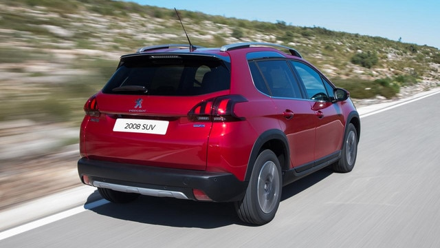 Peugeot 2008 SUV hp gallery front
