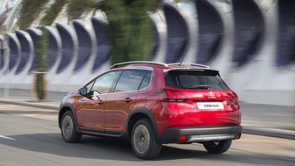 Peugeot 2008 SUV hp gallery side exterior