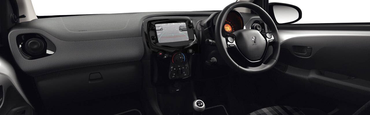 Peugeot 108 Technology drop down