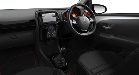 Peugeot 108 Seating Trims
