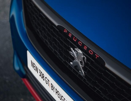 Peugeot 308 GTi by Peugeot Sport front grille