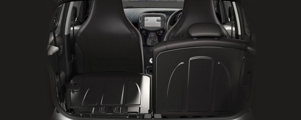 Peugeot 108 boot capacity