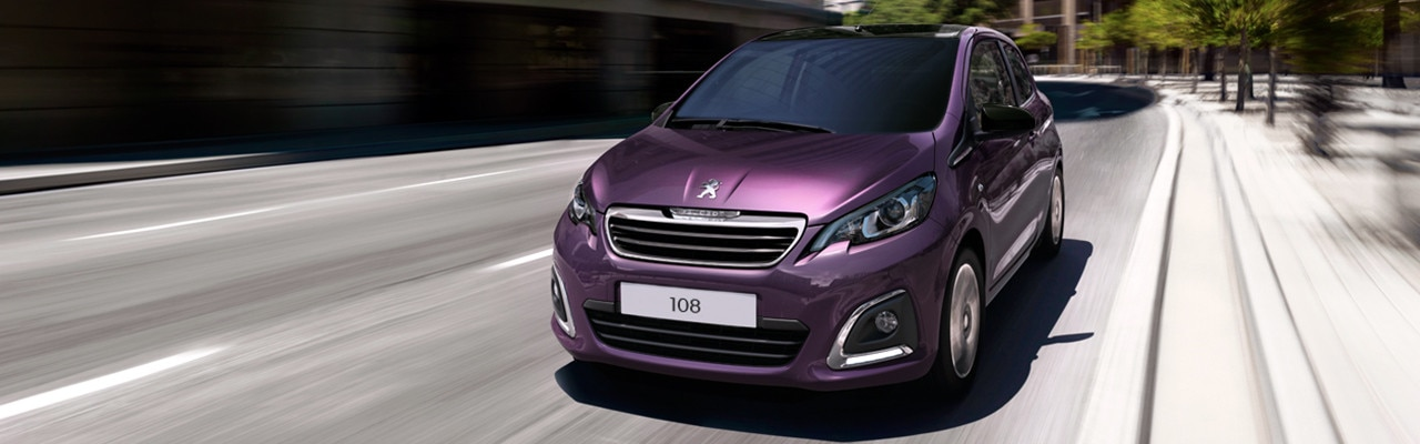 Peugeot 108 Hatchback elegant 3 or 5 door design