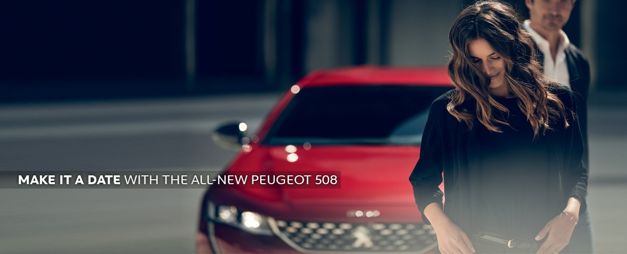 All-new 508 - Make it a date for a driving experience
