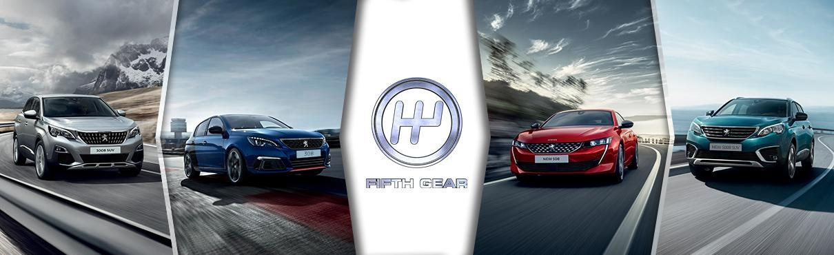 Fifth Gear Programme - Peugeot partnership