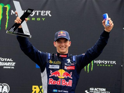 Timmy Hansen wins with Peugeot 208 WRX