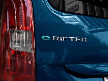 NEW PEUGEOT e-RIFTER – e-Rifter badge