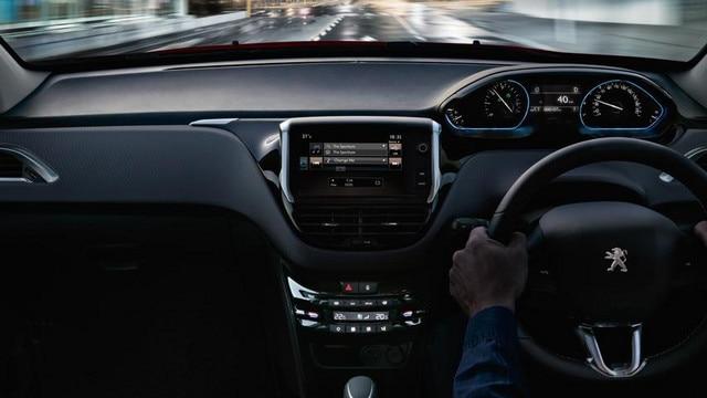 Peugeot 2008 SUV interior