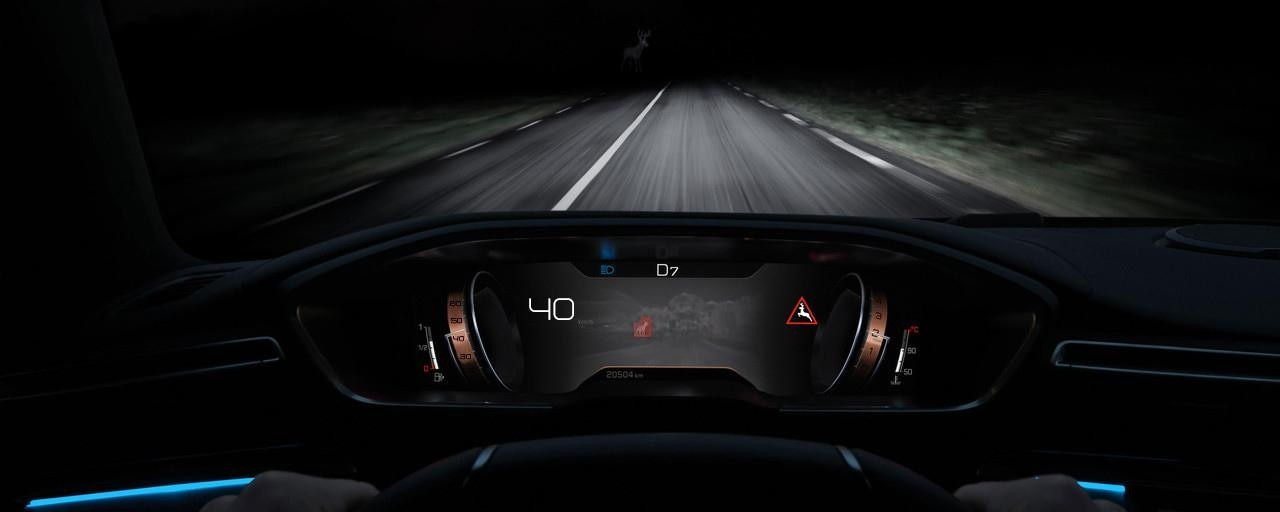 All-new Peugeot 508 SW iCockpit Technology