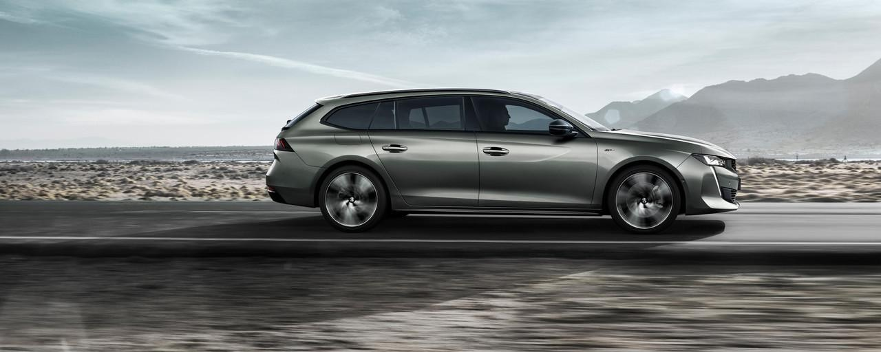All-new Peugeot 508 SW Side View