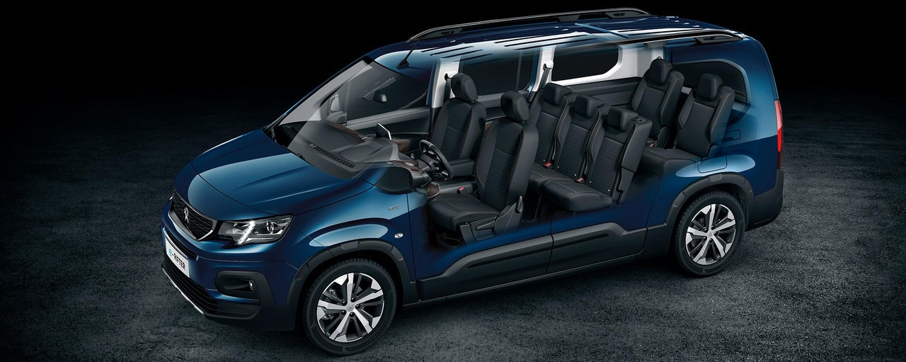NEW PEUGEOT e-RIFTER – upt to 7 seats