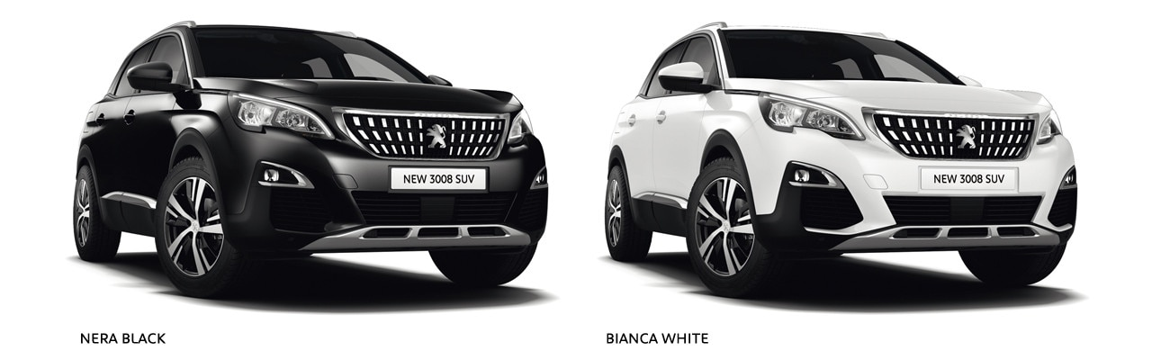 New Suv Coulours Nera Black Bianca White on Led Car Trim