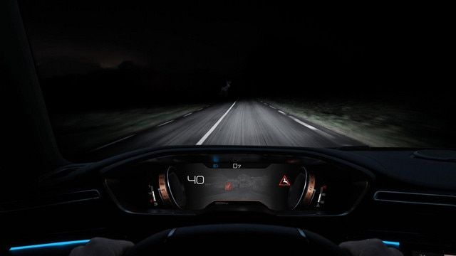 All-new Peugeot 508 SW Night Vision Technology