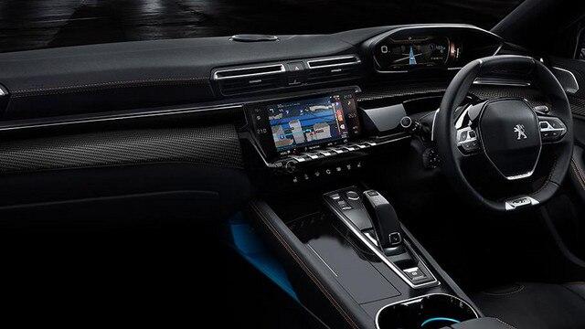 New 508 First Edition RHD interior UK