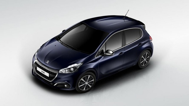 Peugeot City Car 208 5-door Impact Protection