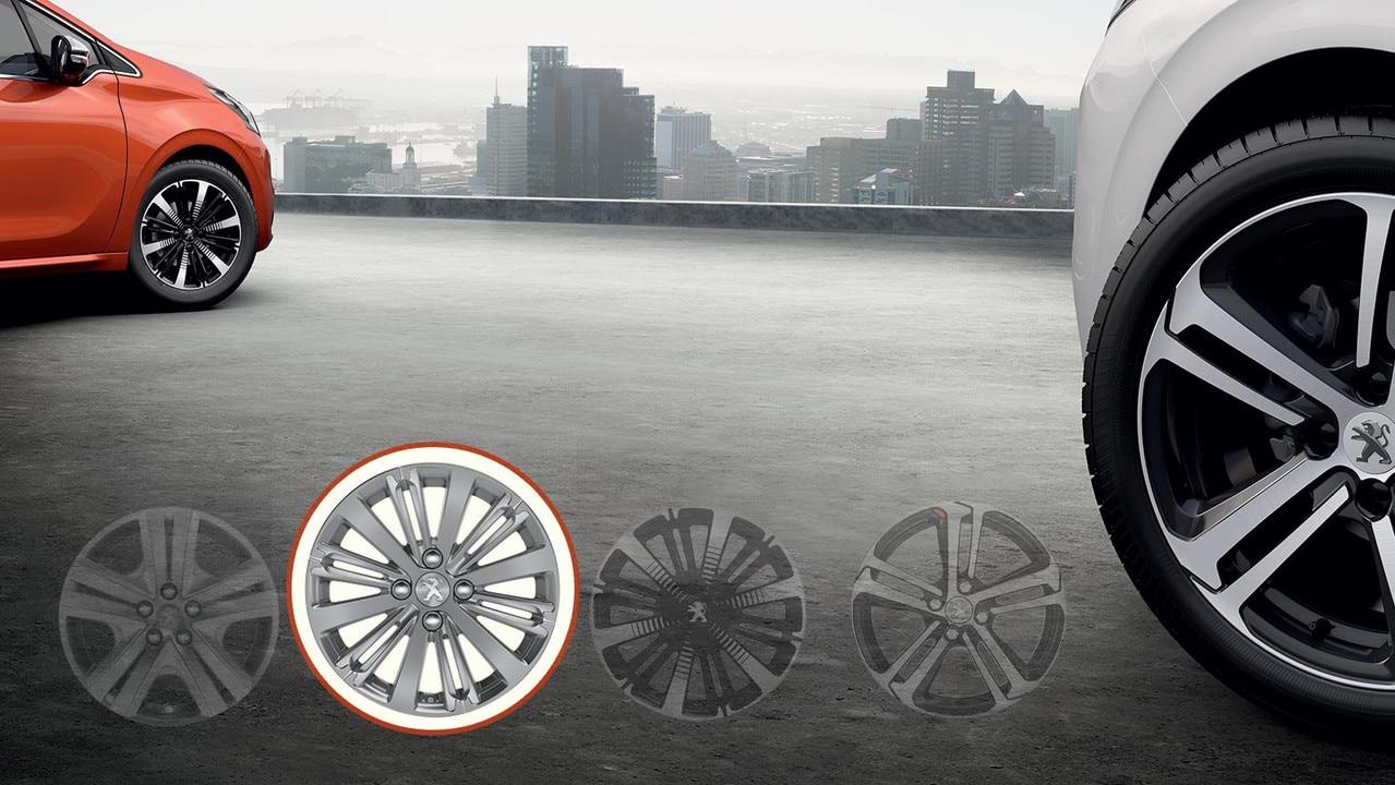 Peugeot 16 Titane Wheels