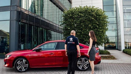 Test Drive the all-new Peugeot 508