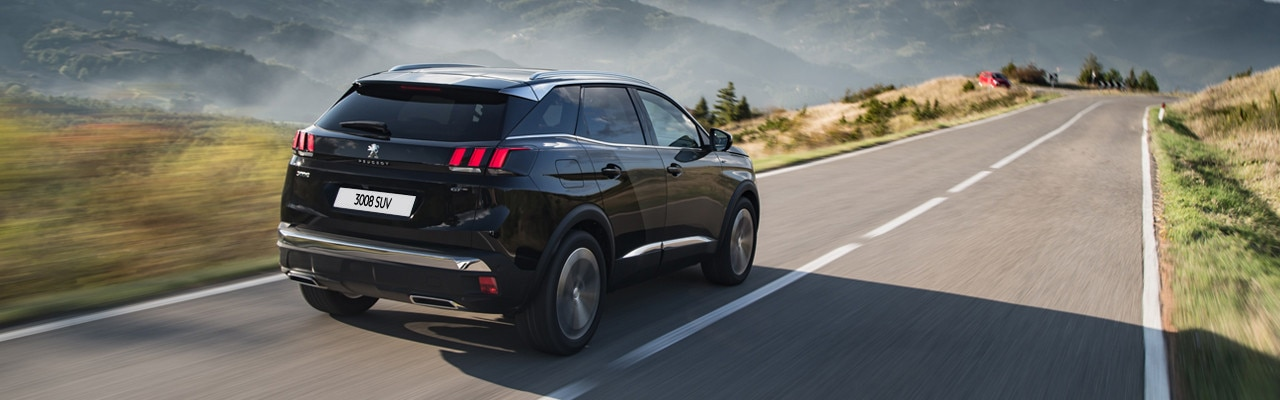 Peugeot 3008 SUV Changes to Vehicles