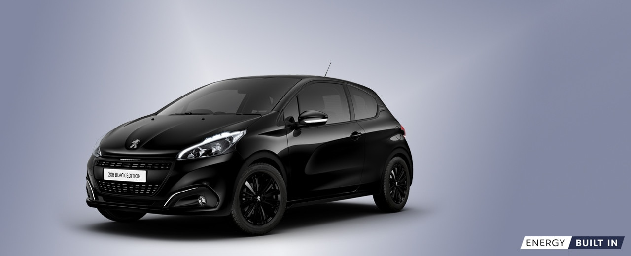 Peugeot 208 Black Edition Peugeot Uk