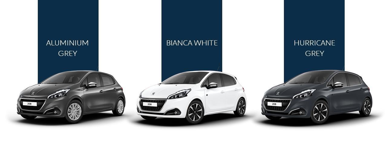 Peugeot 208 - Colors