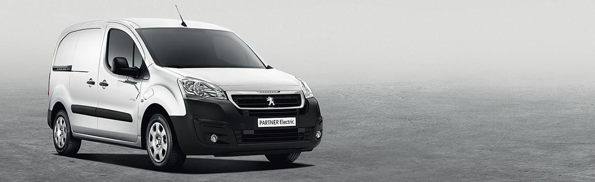 Peugeot Partner Electric van