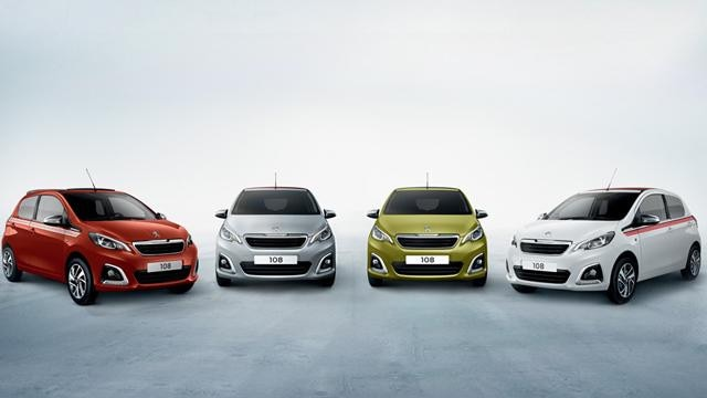 Peugeot 108 Collection range - Special Edition