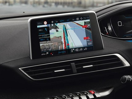 Peugeot 3008 Crossover touchscreen