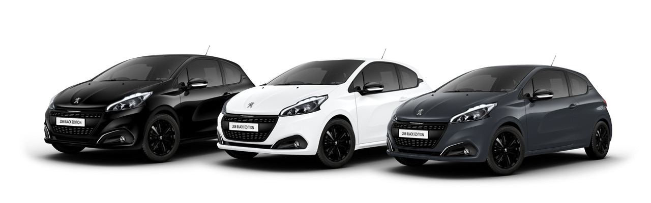 208 black edition exterior colours
