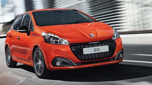 Peugeot 208 Orange City Car