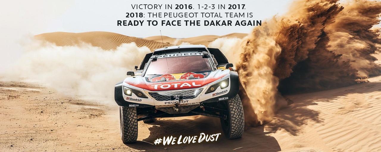 Peugeot 2018 Dakar Race