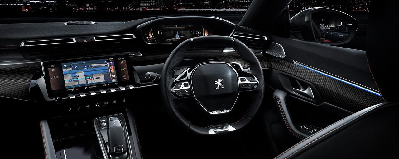 new peugeot 508 discover the premium radical sedan. Black Bedroom Furniture Sets. Home Design Ideas