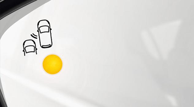 308 Tech Edition Features: Blind spot detection