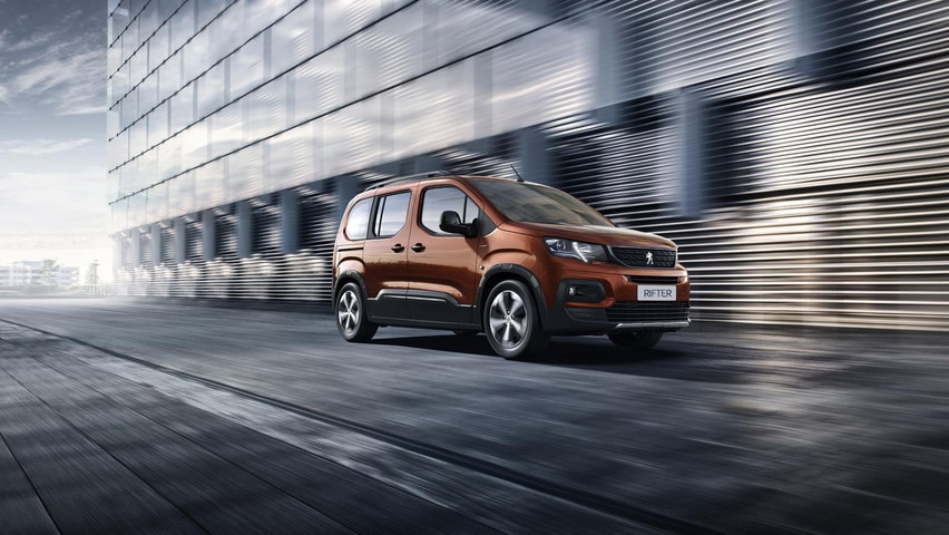 All-new Peugeot Rifter Outdoor style