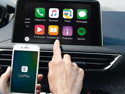 Carplay in Peugeot cars