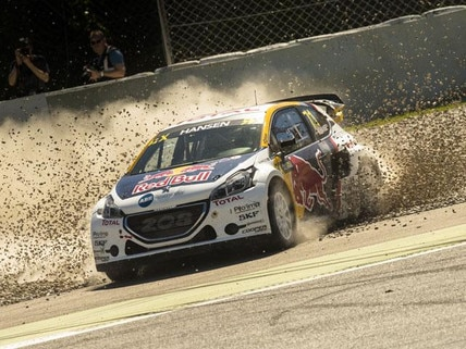 Peugeot 208 WRX debut in Barcelona thumbnail
