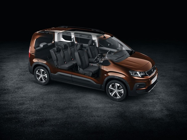 All-new Peugeot Rifter space