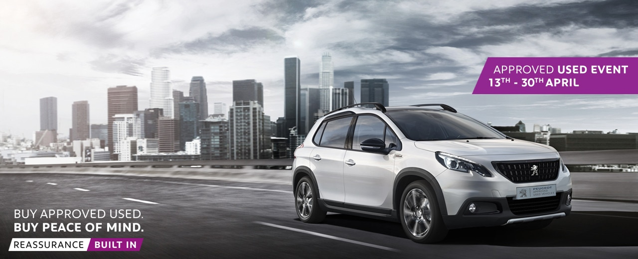 peugeot used car event new 2008 suv