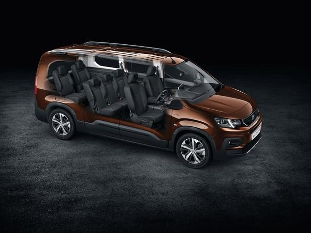 All-new Peugeot Rifter space 7 seats