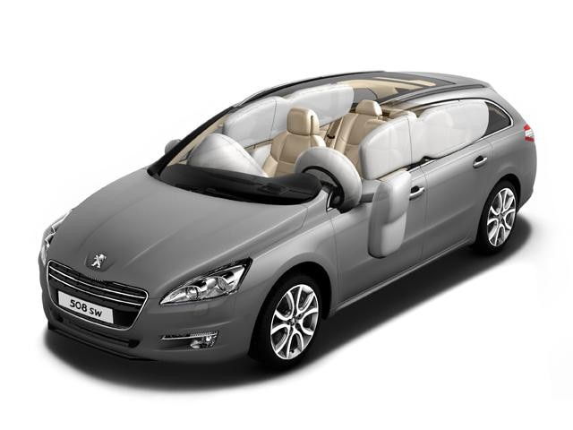 Peugeot 508 SW airbags