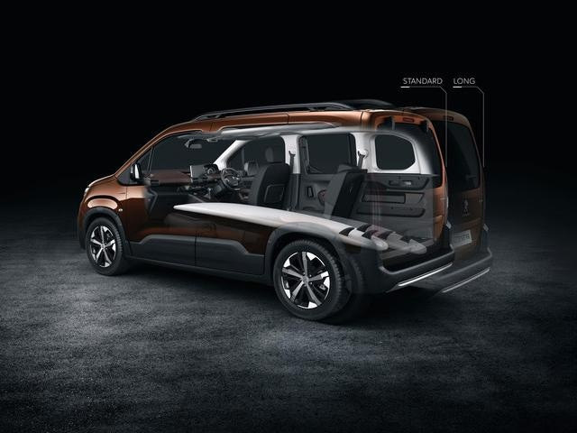All-new Peugeot Rifter space interior