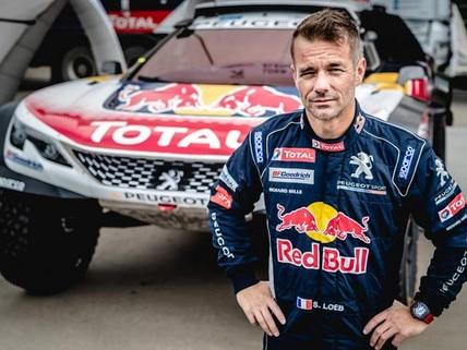 Sébastien Loeb with Peugeot 3008 DKR
