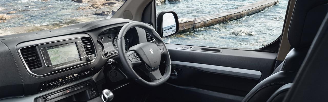 Peugeot Traveller interior dashboard