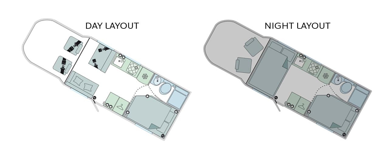 Peugeot Motorhome layouts