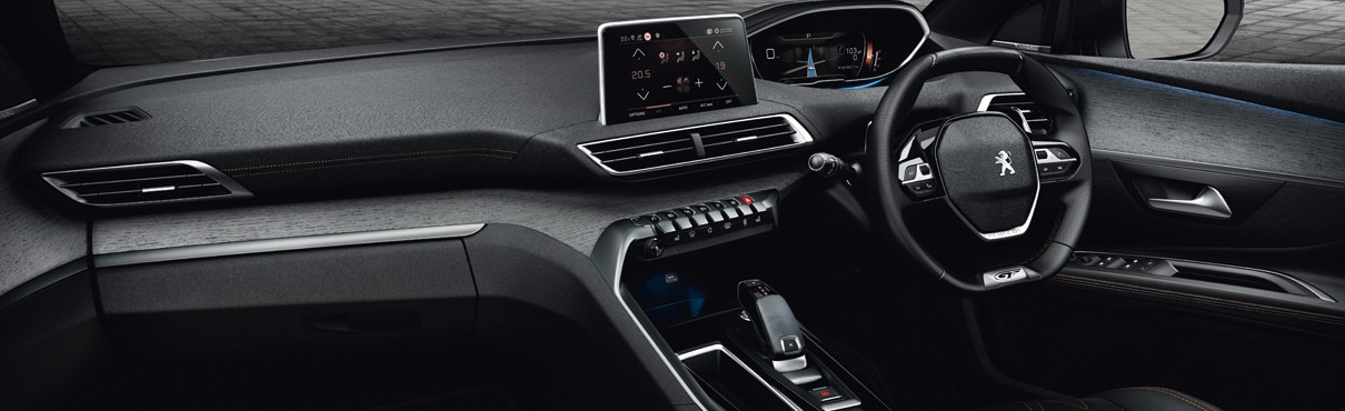 the peugeot i cockpit reinventing the driving experience. Black Bedroom Furniture Sets. Home Design Ideas